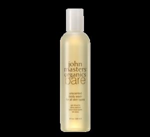 JOHN MASTERS ORGANICS bare bezzapachowy żel pod prysznic