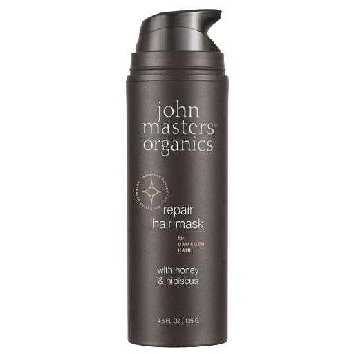 JOHN MASTERS ORGANICS Miód & hibiskus regenerująca maska do włosów _ SoBio Beauty Boutique
