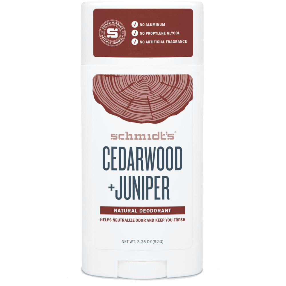 SCHMIDT'S Cedarwood Juniper Dezodorant | SoBio Beauty Boutique