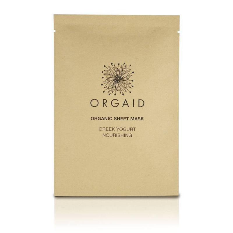 ORGAID odżywcza maska płachcie Jogurt grecki