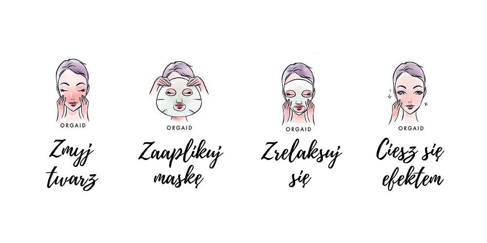 Maski w płachcie