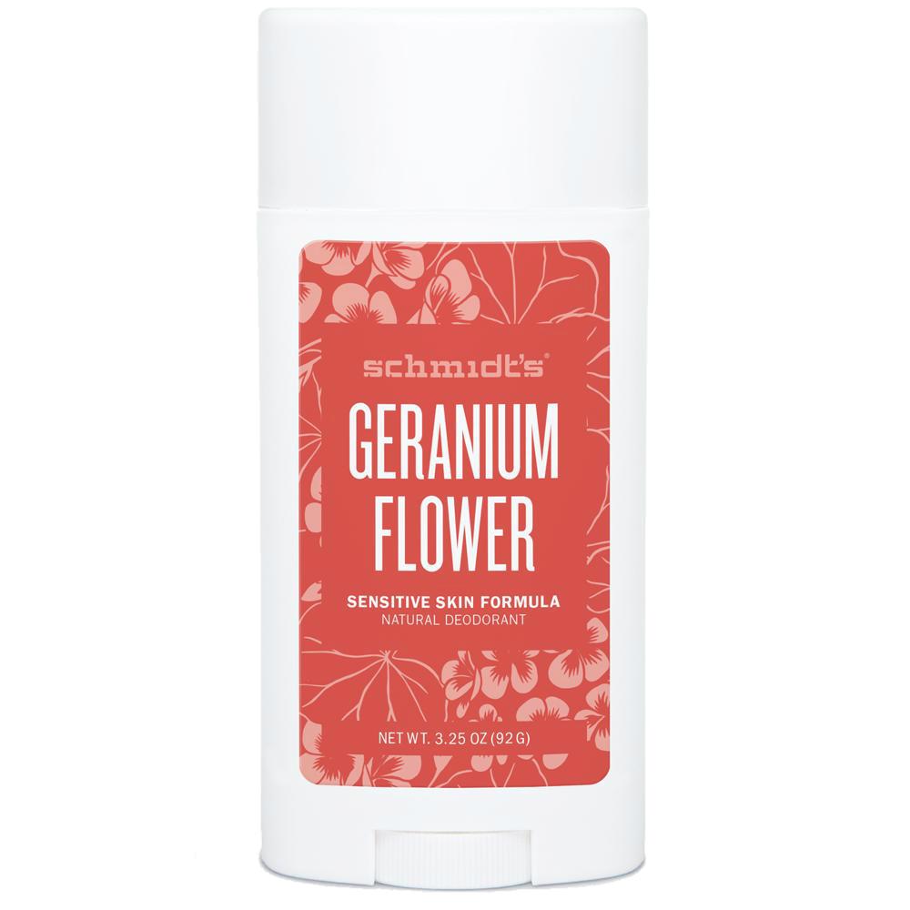 SCHMIDT'S Geranium Flower Dezodorant dla skóry wrażliwej