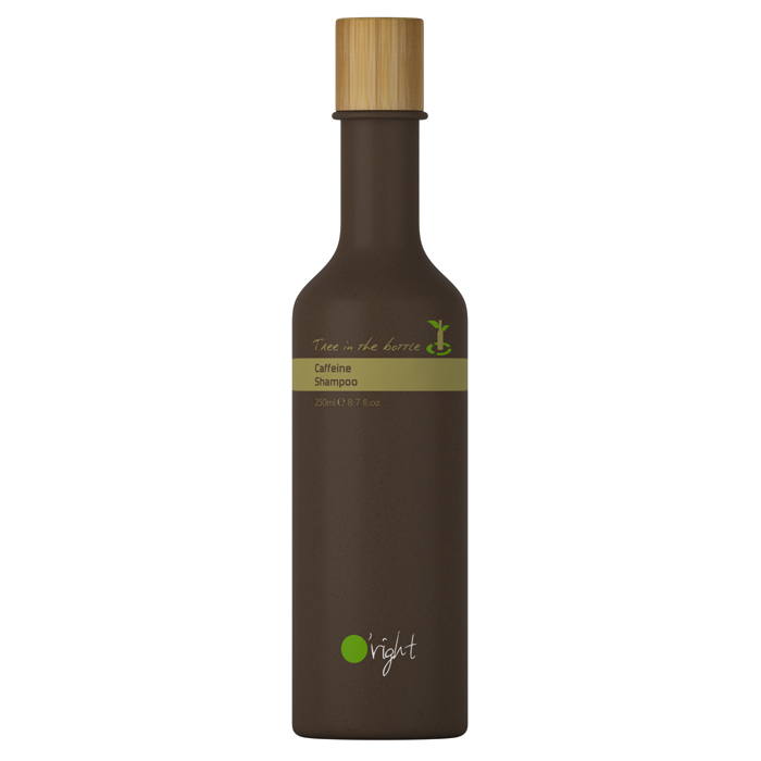 O'RIGHT Caffeine Szampon Tree in the bottle   SoBio Beauty Boutique
