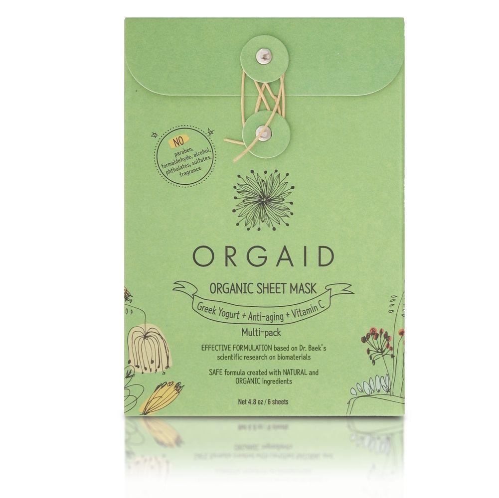 ORGAID Maska w płachcie Multi-Pack | SoBio Beauty Boutique