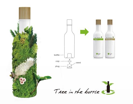 tree in the bottle