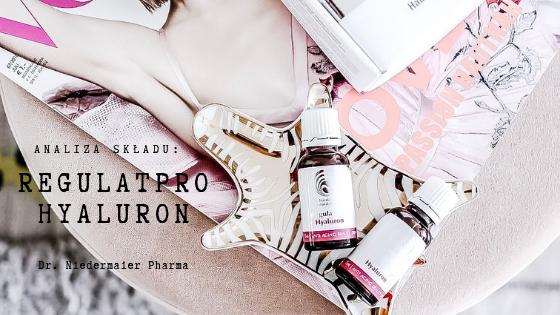 Analiza składu - DR. NIEDERMAIER Regulatpro Hyaluron | SoBio Beauty Boutique BB