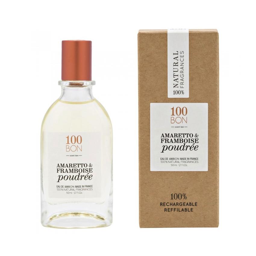 100BON AMARETTO & FRAMBOISE POUDRÉE 50 ml | SoBio Beauty Boutique