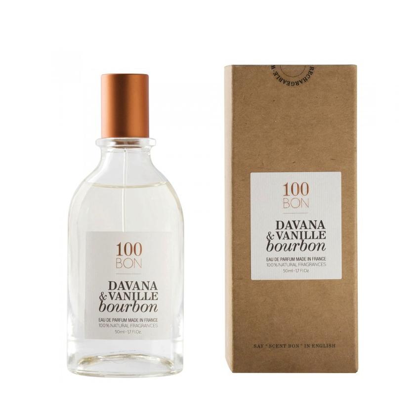 100BON DAVANA & VANILLE BOURBON 50 ml | SoBio Beauty Boutique