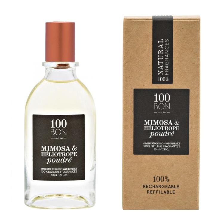 100BON MIMOSA & HÉLIOTROPE POUDRÉ 50 ml | SoBio Beauty Boutique