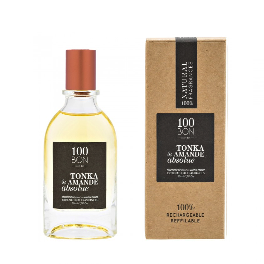 100BON TONKA & AMANDE ABSOLUE 50 ml | SoBio Beauty Boutique