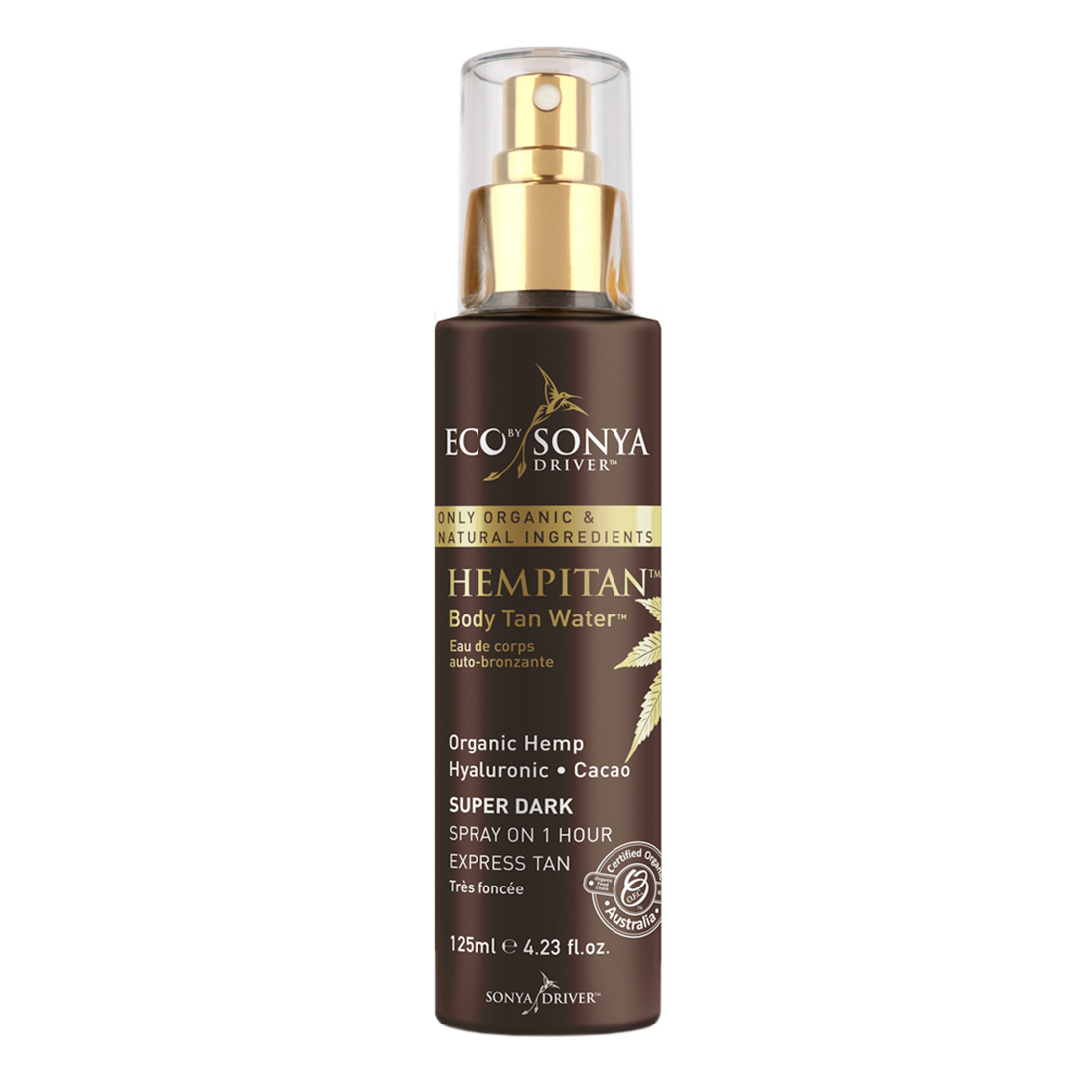 ECO BY SONYAHempitan Opalająca woda do ciała(Body Tan Water) _ SoBio Beauty Boutique