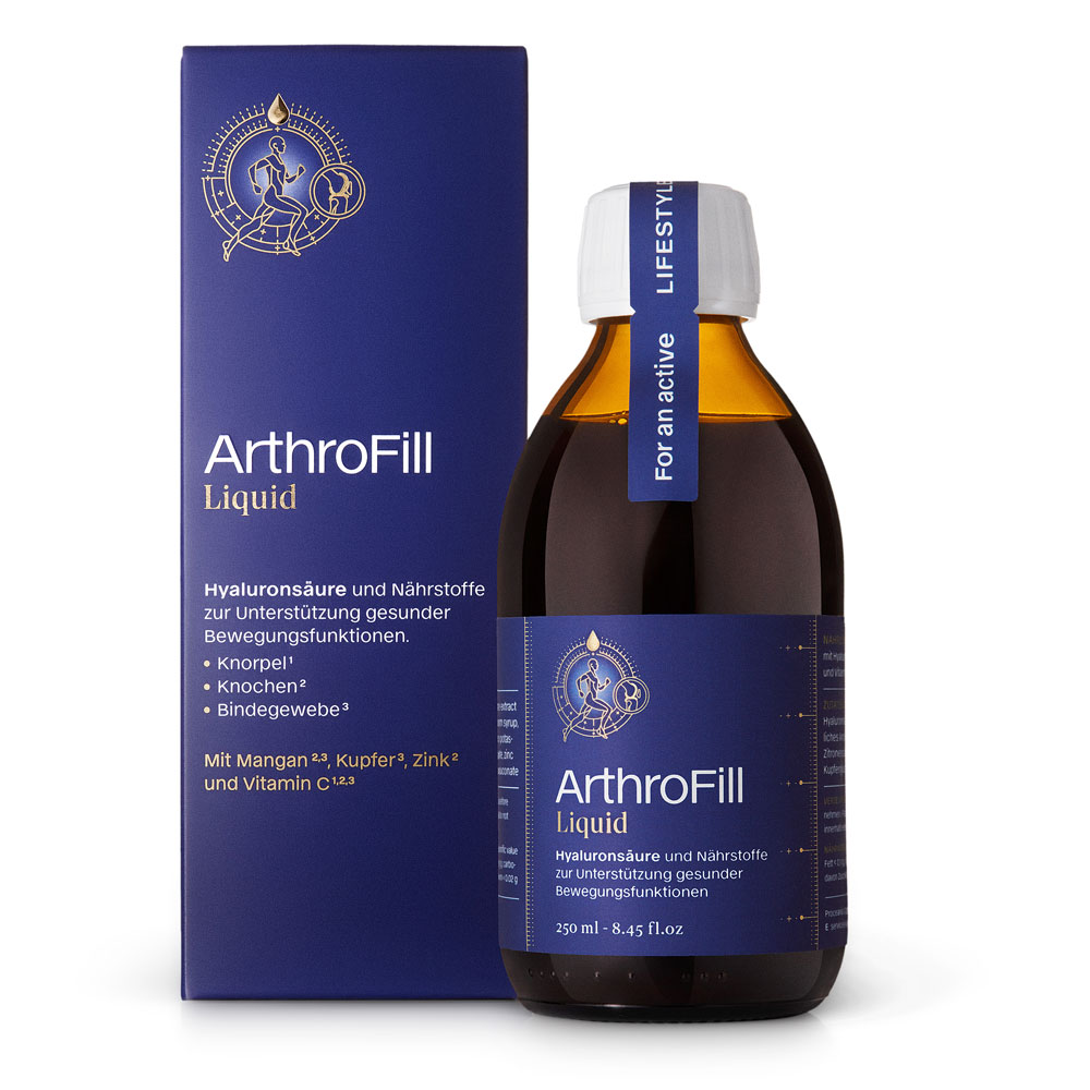 ARTHROFILL® Liquid | Kwas hialuronowy do picia | SoBio Beauty Boutique