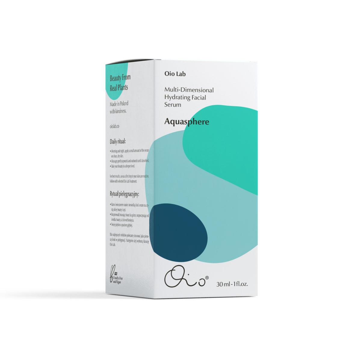 OIO LAB Aquasphere Hydrating Facial Serum | SoBio Beauty Boutique | Cruelty-Free Concept Store 3
