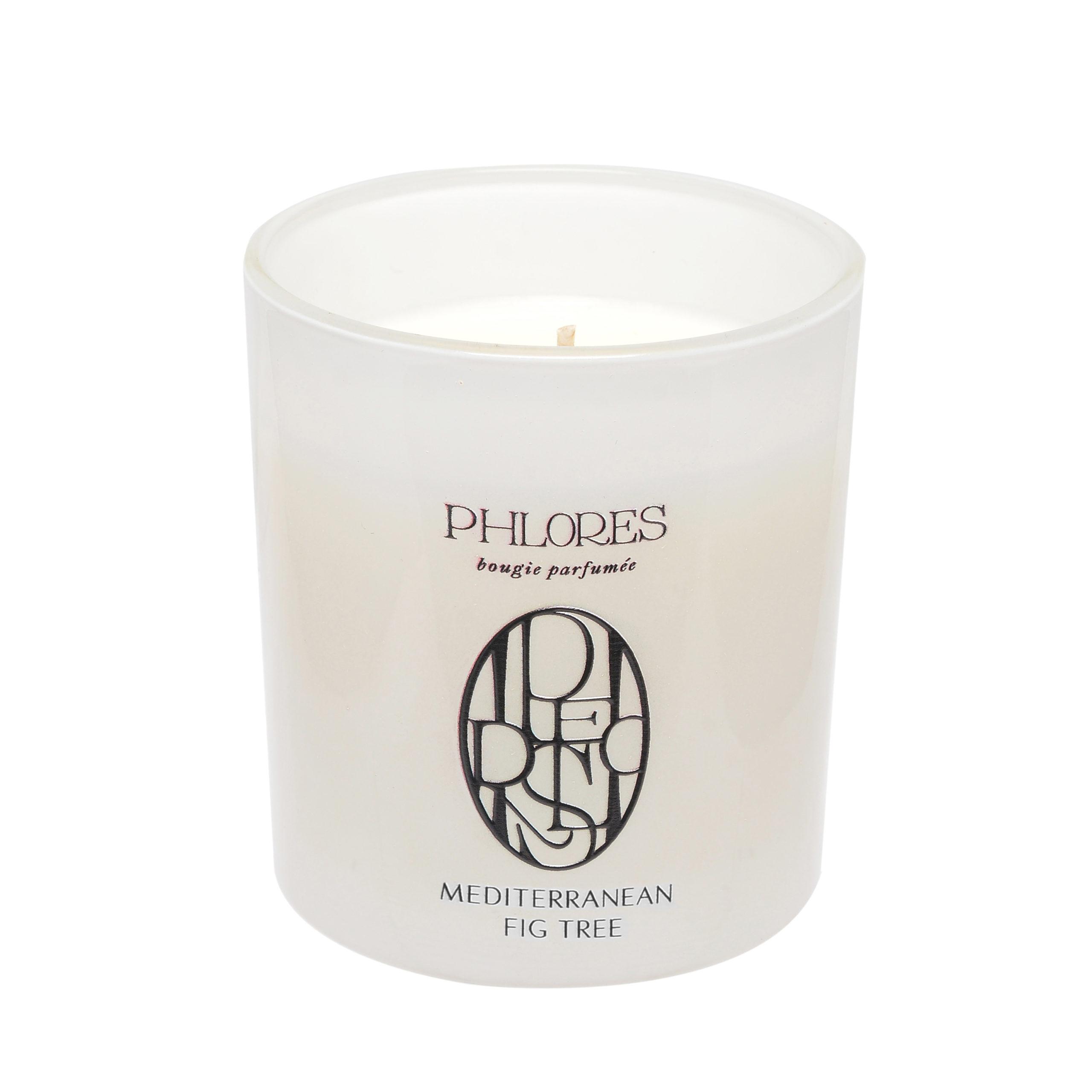 PHLORES Mediterranean Fig Tree Soy candle | SoBio Beauty Boutique