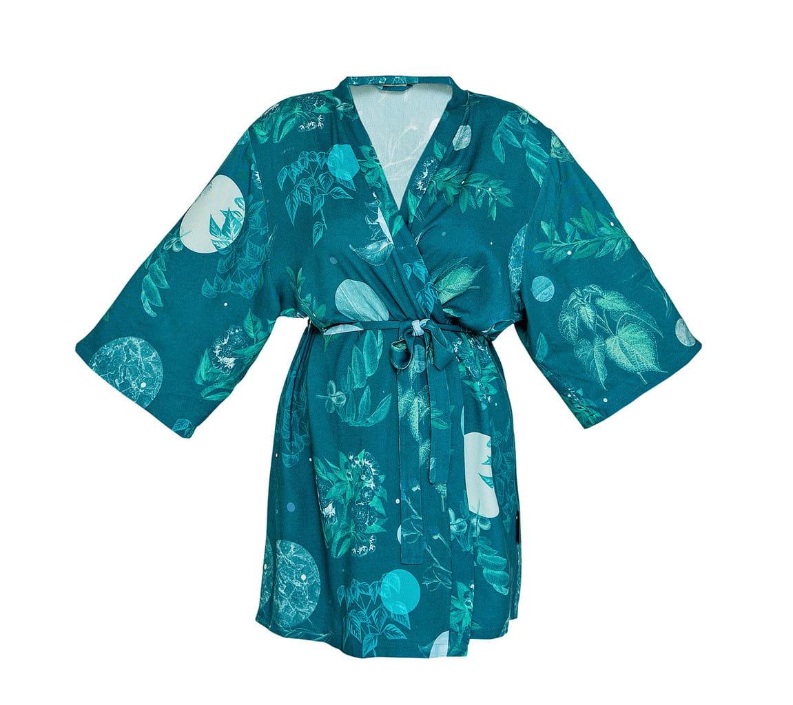 LULLALOVE Bamboo Kimono Moon Garden| SoBio Beauty Boutique