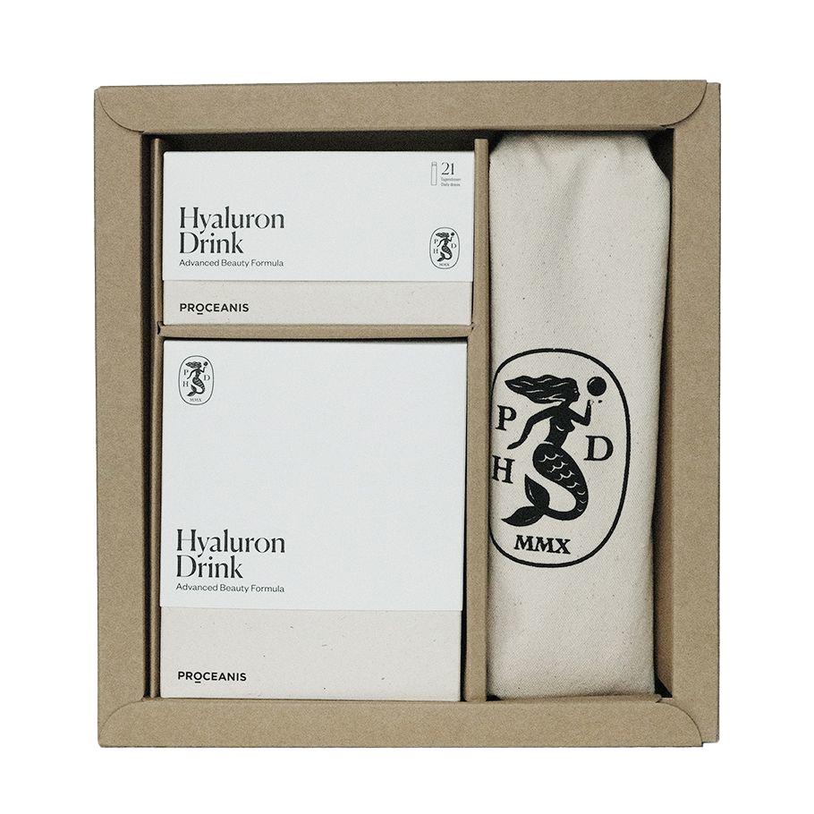 PROCEANIS Hyaluron Drink Zestaw Traveller _ SoBio Beauty Boutique _ Cruelty Free Concept Store
