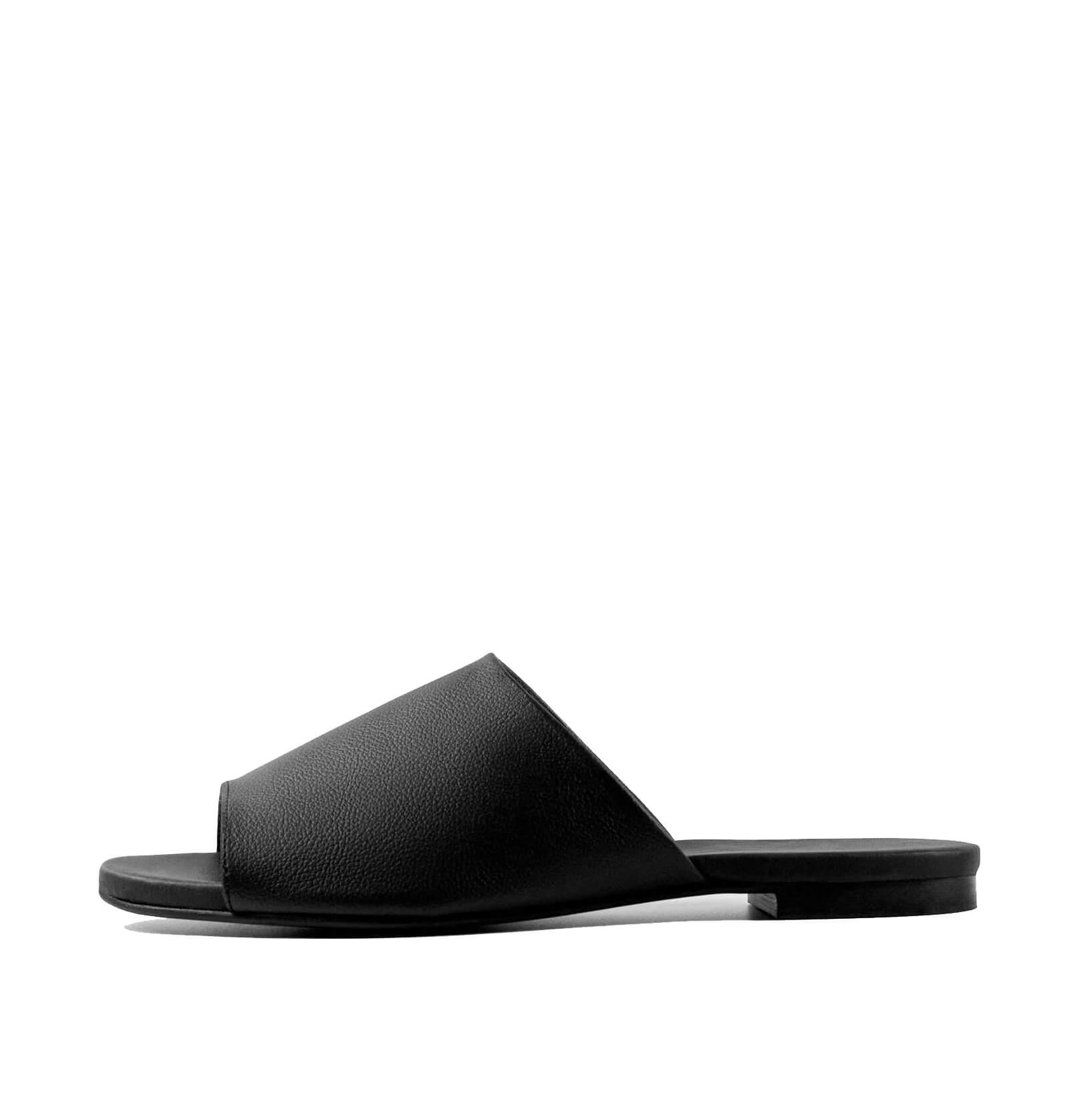 BOHEMA Ritzy Grape Leather Flip Flops | SoBio Beauty Boutique