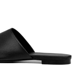 BOHEMA Ritzy Grape Leather Flip Flops _ SoBio Beauty Boutique _ Cruelty Free Concept Store 3
