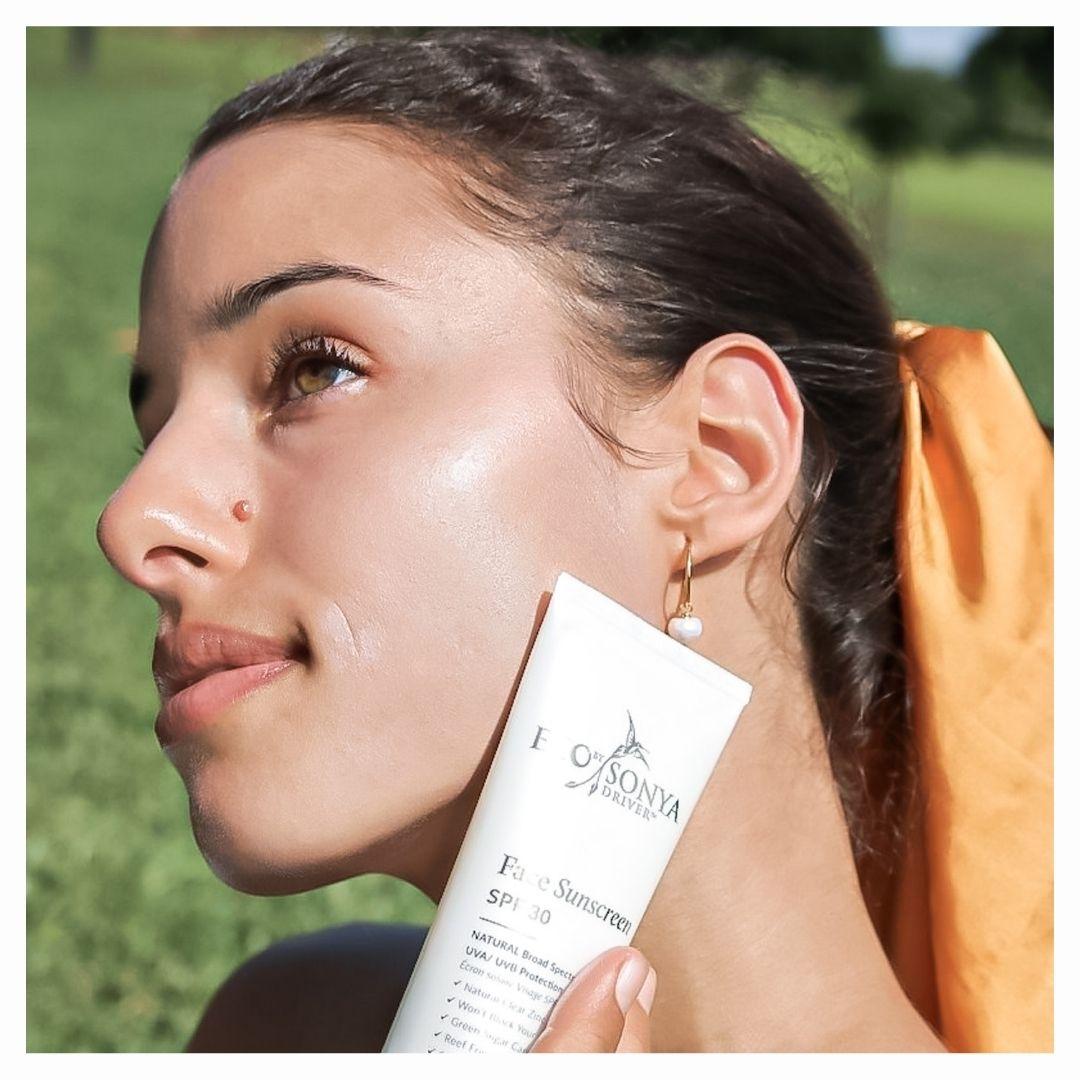 ECO BY SONYA Face sunscreen SPF30 SoBio Beauty Boutique 6