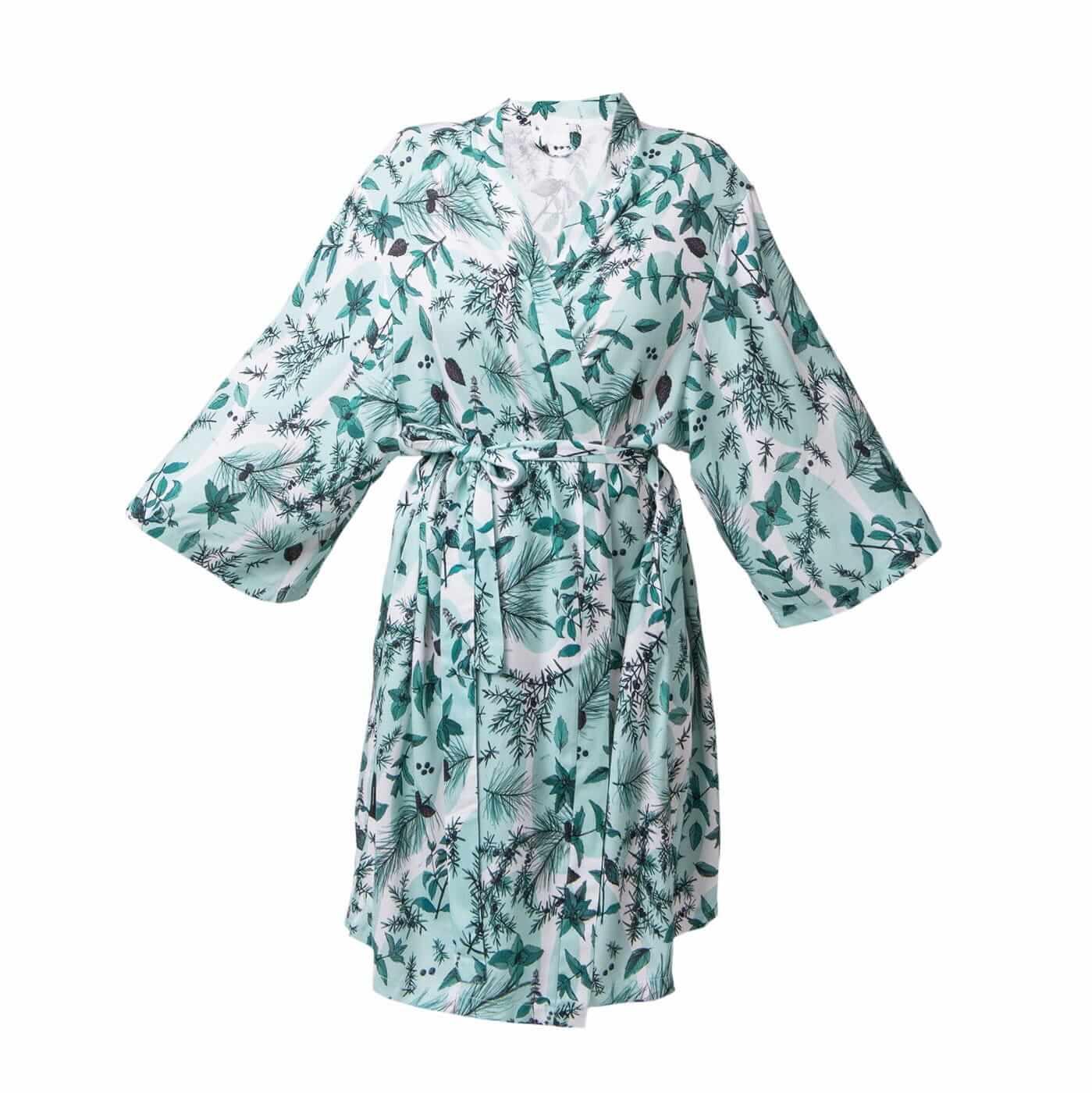 LULLALOVE Kimono Bambusowe Ziołowa Łąka | SoBio Beauty Boutique | Cruelty Free Concept Store