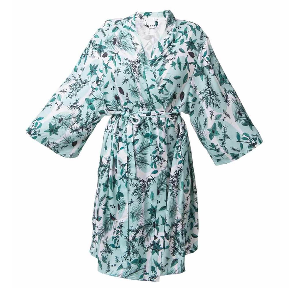 LULLALOVE Kimono miętowe_ SoBio Beauty Boutique _ Cruelty Free Concept Store