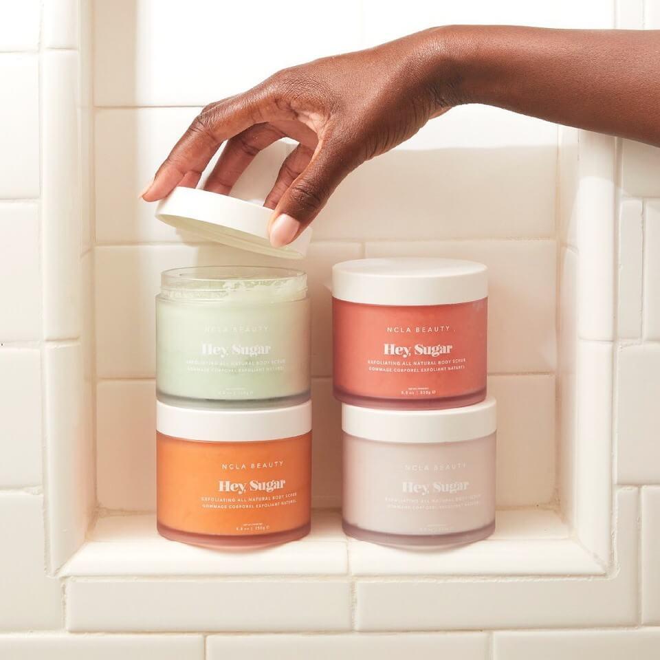 NCLA Peeling do ciała Hey Sugar | SoBio Beauty Boutique | Cruelty Free Concept Store