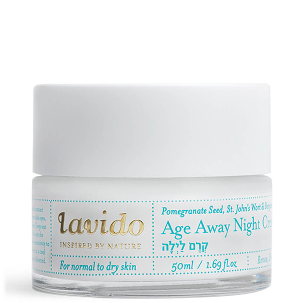 LAVIDO Age Away Krem na noc (AGE AWAY NIGHT CREAM) _ SoBio Beauty Boutique _ Cruelty Free Concept Store